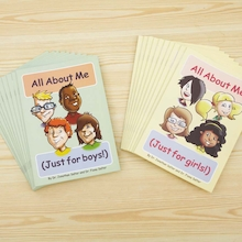 All About Me Journal 20pk  medium