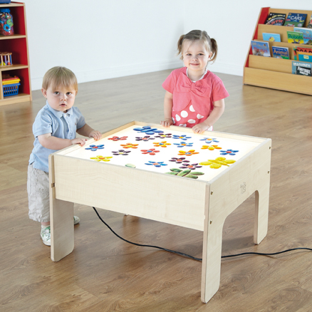 Low Level Toddler Light Box Table  large
