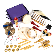 KS1 Percussion Instrument Set 25pk  medium
