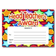 Headteachers Award Certificates  medium