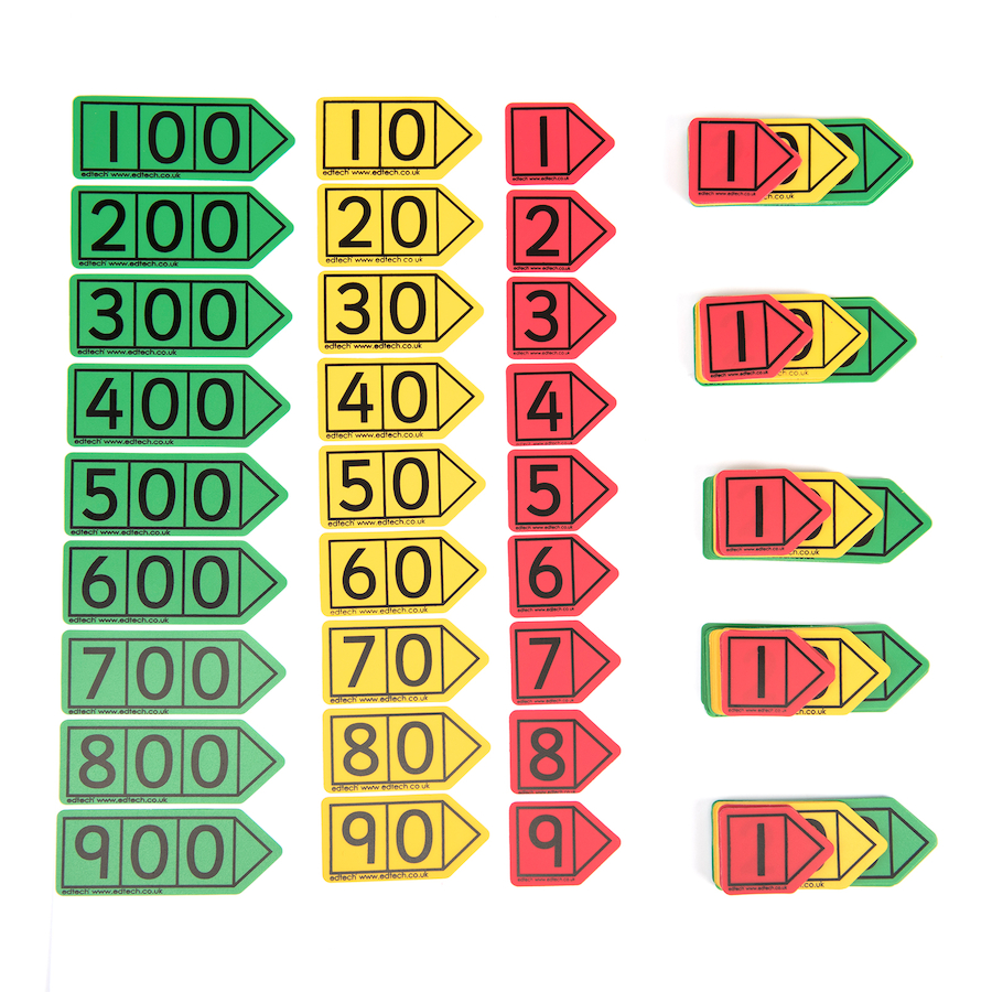 Buy Colourful Hundreds Place Value Arrows