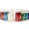 Square Assorted Glitter Class Pack 100ml 10pk  small