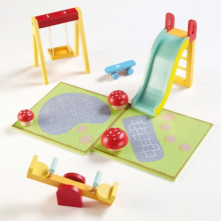 Small World Dolls Playground Playset  large