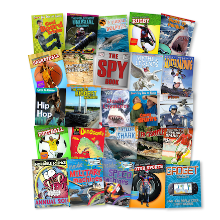 KS2 Engaging Readers Books 25pk  large