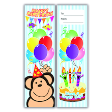 Birthday Bookmarks 40pk  medium