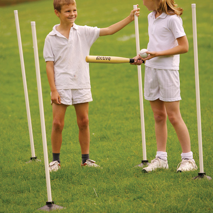 Rounders Posts and Bases 4pk  large
