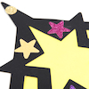 Stained Glass Window Star Decorations  small