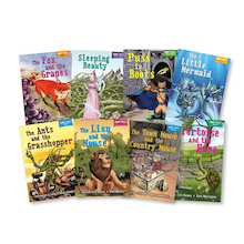 KS1 Traditional Fables and Tales Books 8pk  medium