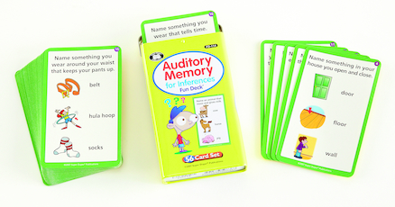 Auditory Memory For Inferences Activity Cards 56pk  large