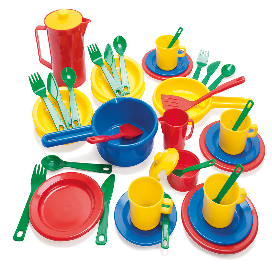 Play kitchen clip art - Plastic Role Play Kitchen And Dining Accessories