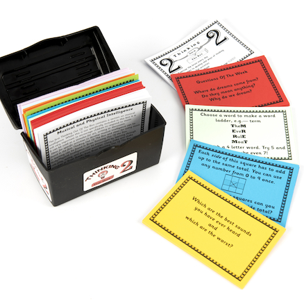 Thinking Activity Cards In A Box Set 2  large