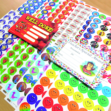 Scented Stickers and Certificates 425pk  medium