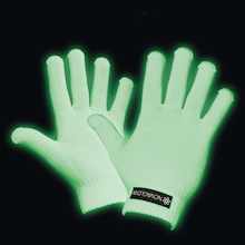 Glow In The Dark Gloves  medium