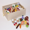Role Play Bumper Wooden Food Set in Crate  small