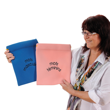 Le and La French Fabric Sorting Bags  large