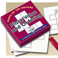 Place Value and Ordering Activity Cards 25pk  medium