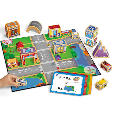 Map My Town Prepositions Game  large