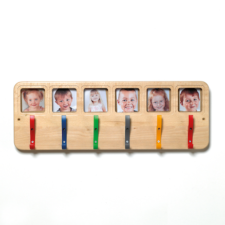 12 Coat Pegs With Picture Window  large