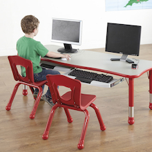 Siena Child's Computer Table H600mm  medium