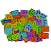 Colourful 1-100 Felt Number Tiles  small