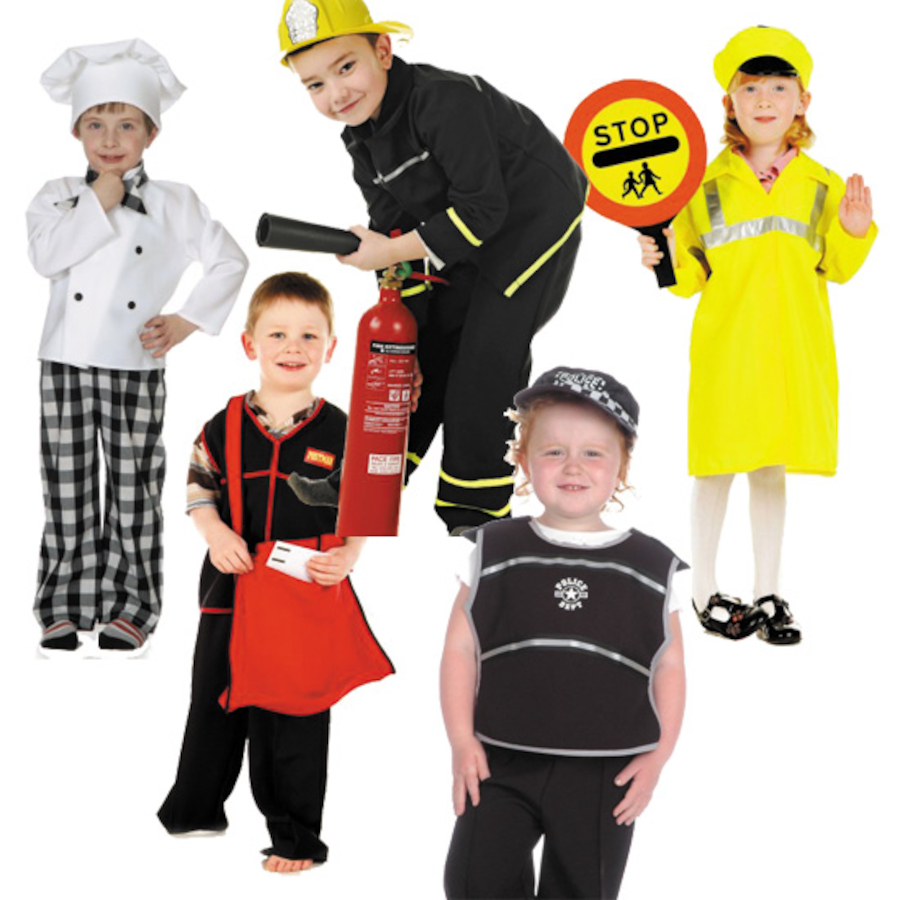 Buy Role Play Community Outfits 5pcs | TTS