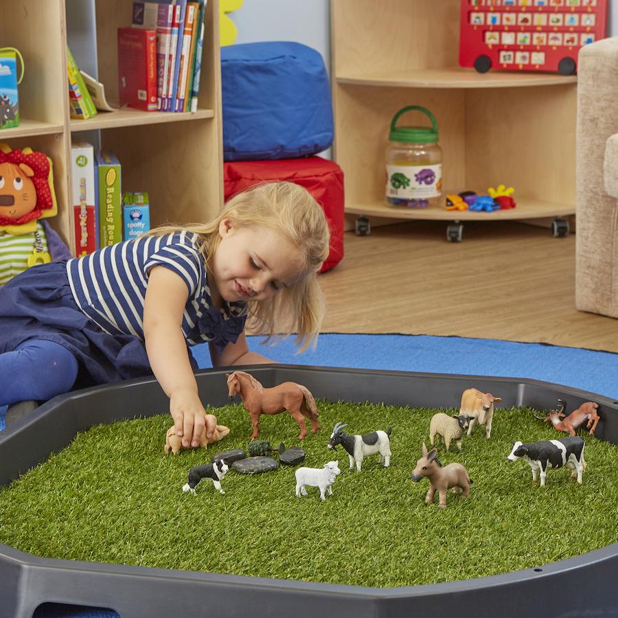 Buy Artificial Active World Tray Grass Mat 86cm Tts
