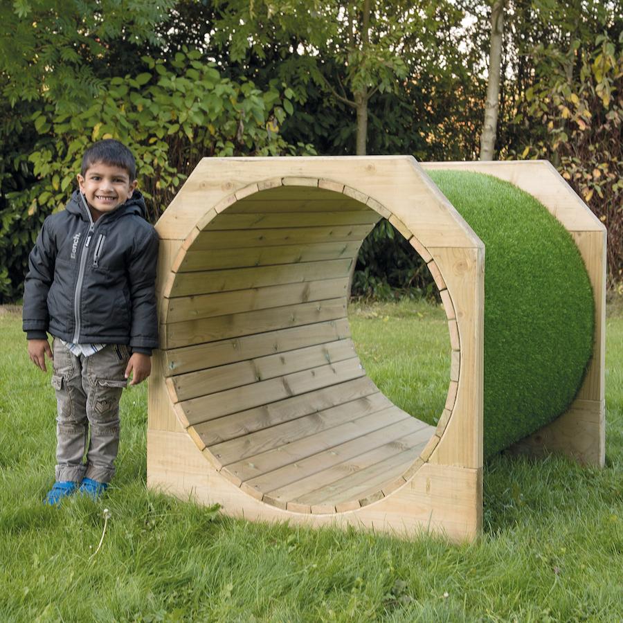 Buy Outdoor Wooden Tunnels Tts