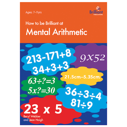 How To Be Brilliant At Mental Arithmetic Sheets  large