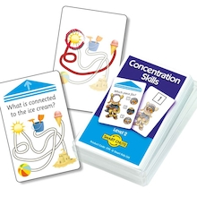 Concentration Skills Activity Cards 50pk  medium