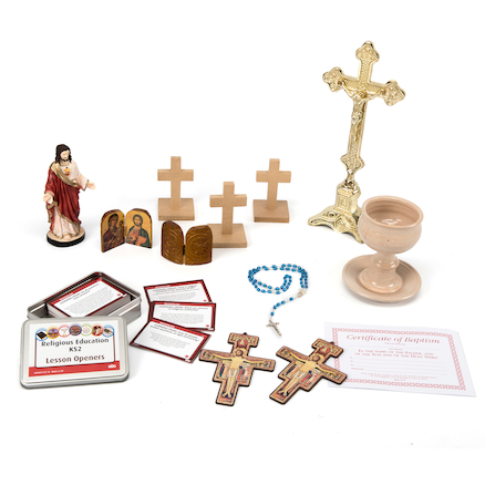 Christianity Artefacts Collection  large