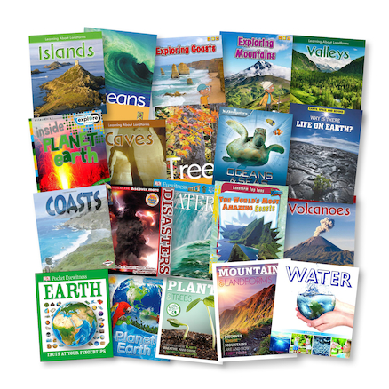 Our Planet Earth Books 20pk  large