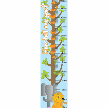 Jungle Height Chart 120cm  large