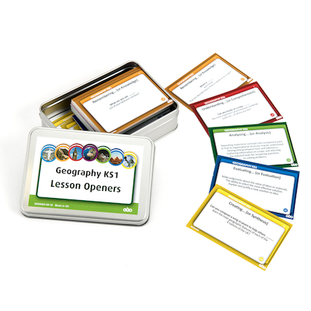 Geography Teaching Activity Cards Set  large