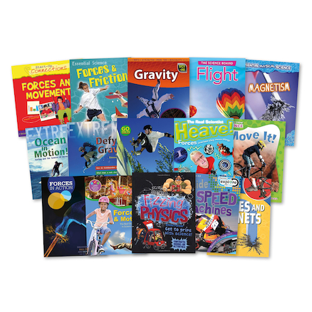 KS2 Forces and Motion Books 15pk  large