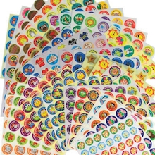 Assorted Motivational Reward Stickers 1149pk  medium