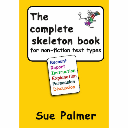 Complete Skeleton Book for Non-Fiction Text Types  large