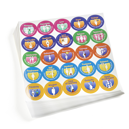 Character Strength Phrase Reward Stickers 1200pk  large