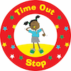 Time Out Stop Playground Sign 45cm  small