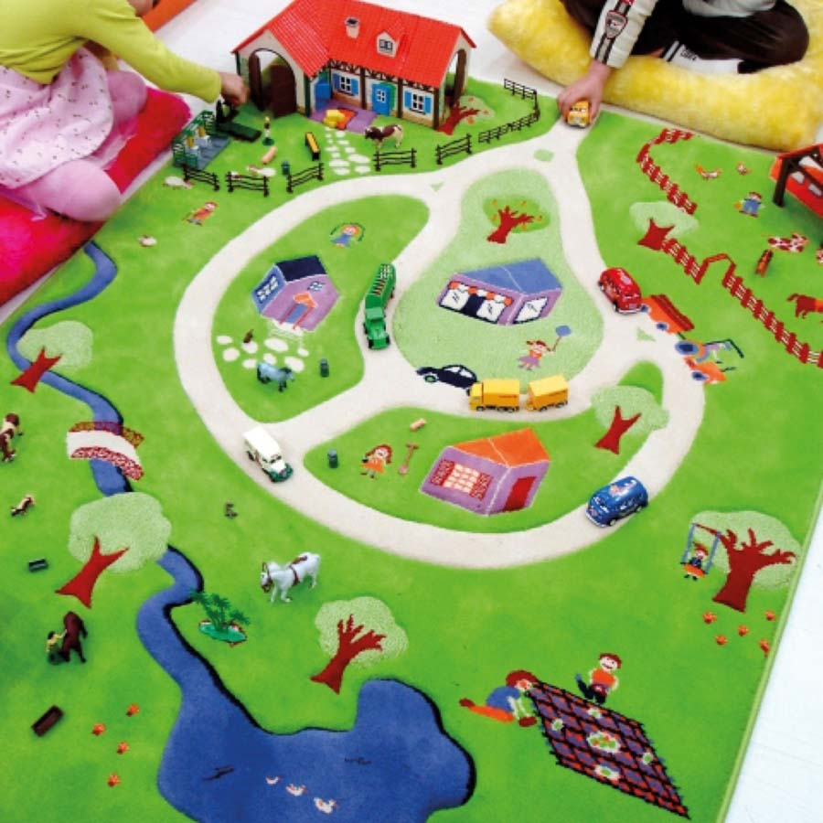 ... Small World 3D Activity Play Rug Small ...