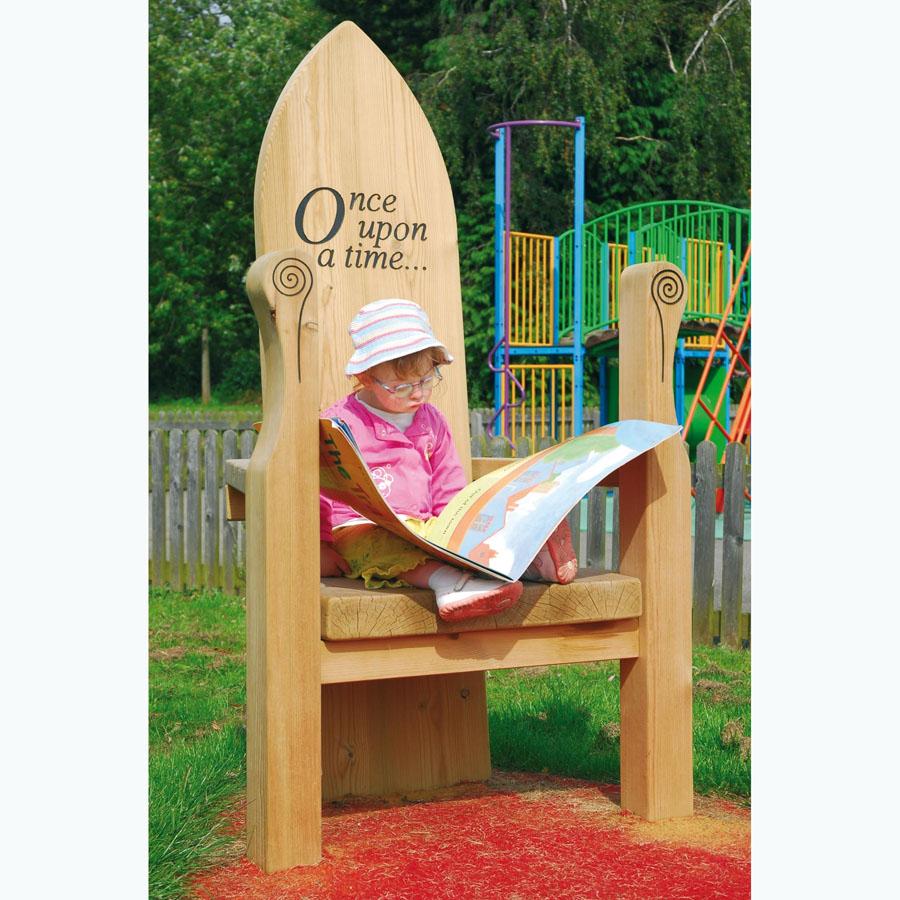 Buy Outdoor Wooden Storytellers' Chair
