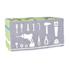 Kitchen and Road Scene Fabric Overlay Sets  small