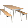 Contour Dining Stacking Benches  small
