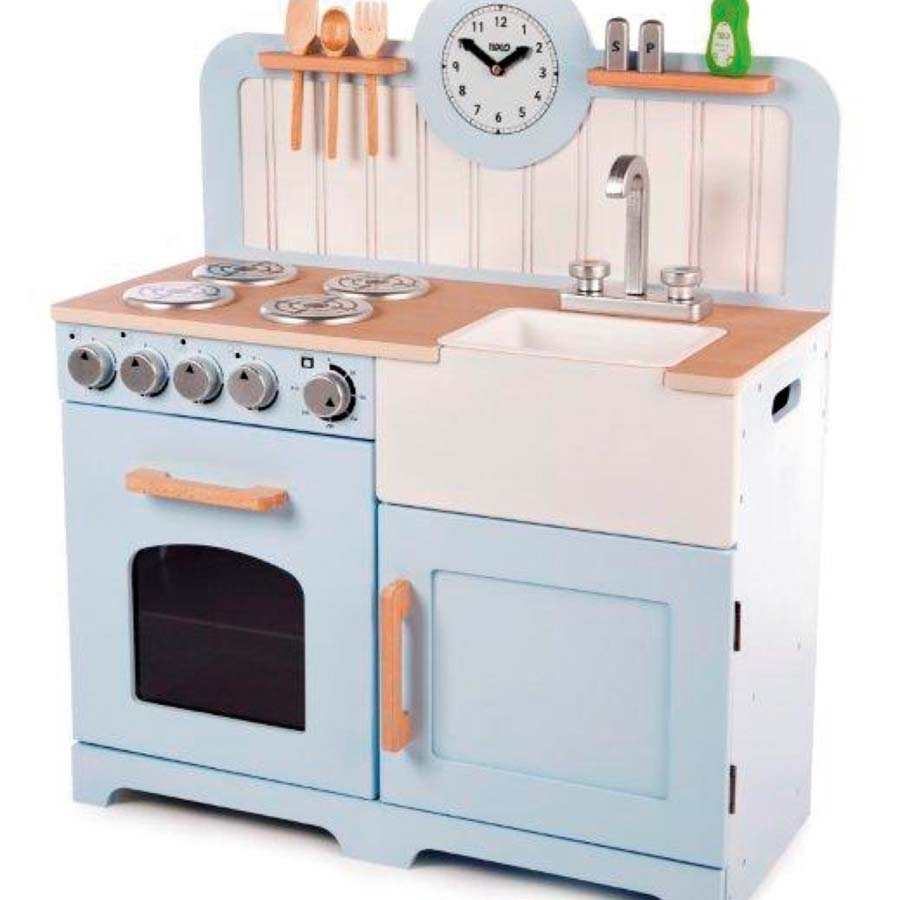 buy role play wooden country play kitchen | tts