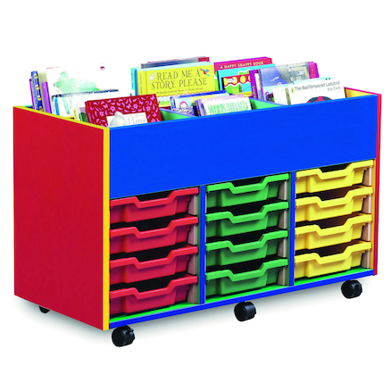 Colour My World 6 Bay Kinderbox and Trays  large