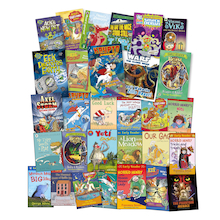 KS2 Engaging Boy Readers Books 30pk  medium