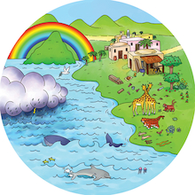 Noah's Ark Reflective Storytelling Kit  medium