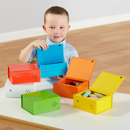 Rainbow Recordable Talking Boxes  large