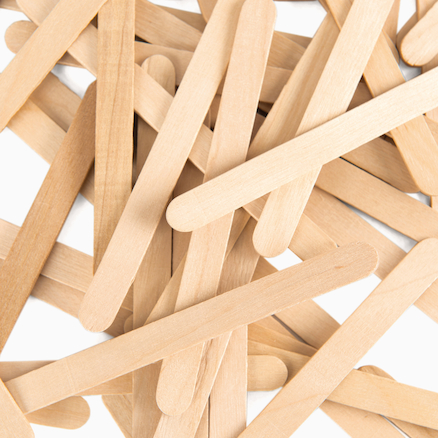 Wooden Craft Lolly Sticks  large