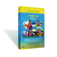 Child's Eye View People Who Help Us DVD  medium