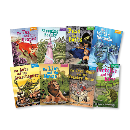 KS1 Traditional Fables and Tales Books 8pk  large